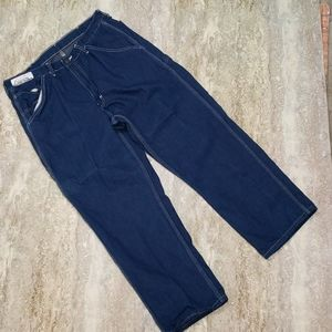 REED MENS CARPENTER JEANS SIZE 36X28